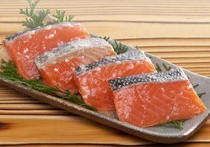 鮭の塩こうじ漬 見田元七商店 片山商店の塩麴を使用 新潟県 魚介類